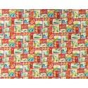 Tissu au Mètre 100% Cotton Largeur 110 cm