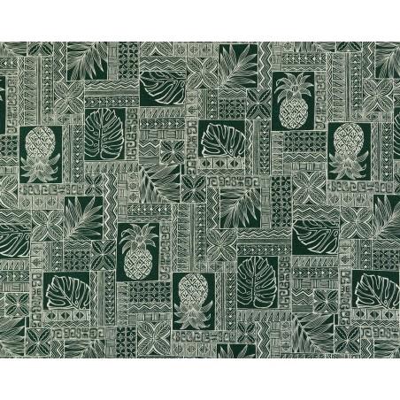 Tissu au Mètre Forest Pineapple 100% Cotton Largeur 110 cm