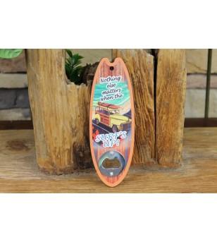 Décapsuleur Surf Matière MDF Taille 20x7x0.9 cm