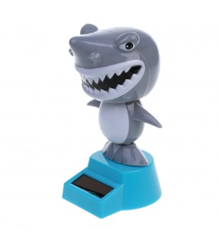 Sharky Dashboard Doll Solaire Plastique - Taille 14x11x 6.5 cm