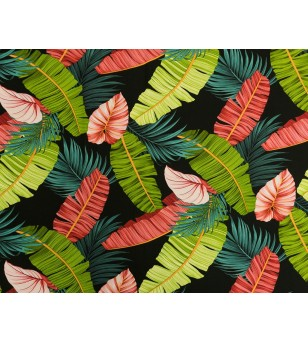 Tissu au Mètre 66% Rayon 34% Coton Largeur 150 cm