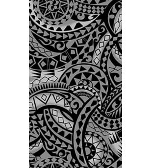 Tissu au Mètre Maori Black 65% Polyester - 35% Cotton Largeur 110 cm
