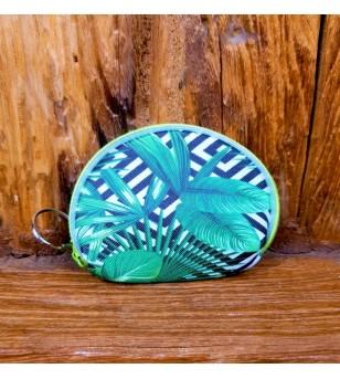 Porte Monnaie Tropical Paradise Matière PVC Taille 9x6 cm