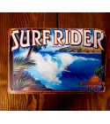Plaque Métal Surf, Hawaii, Vintage 20*30